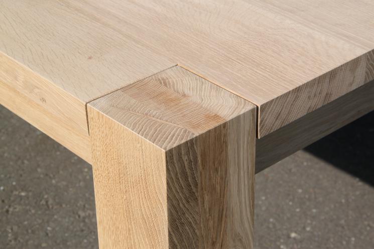 Massief houten tafel, Amsterdam, robuust, mammoet tafel