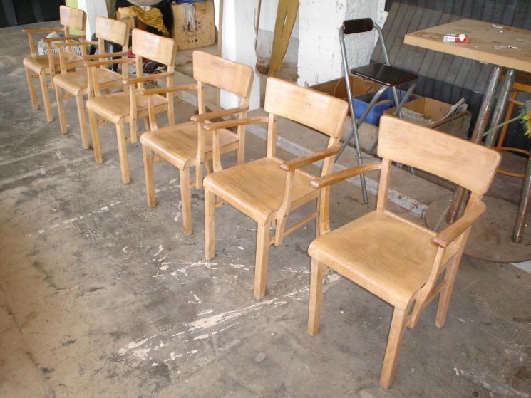 opknappen stoeltjes, reparatie/opknappertjes