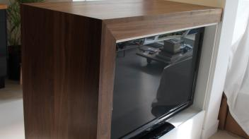 Notenhout, Tv meubel, Barmeubel